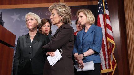 Female Democratic Senators harassment discriminaiton house congress