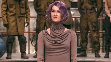 Laura Dern as Admiral Holdo in