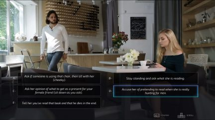 Screenshot of the video game