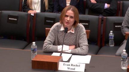 evan rachel wood congress sexual assault survivors' bill (screencap)
