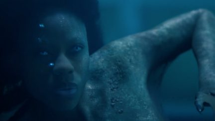 Sibongile Mlambo as a mermaid in Freeform's Siren