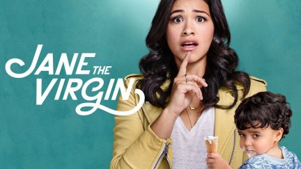 Gina Rodriguez as Jane in Jane the Virgin