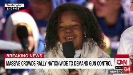 yolanda renee king at march for our lives