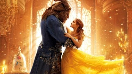 Emma Watson and Dan Stevens as Beast and Belle in Disney's live action Beauty and the Beast