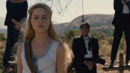 Evan Rachel Wood as Dolores on HBO's Westworld 2