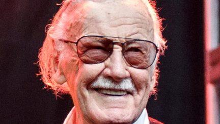 LOS ANGELES, CA - OCTOBER 28: Stan Lee onstage at ENTERTAINMENT WEEKLY Presents Dwayne