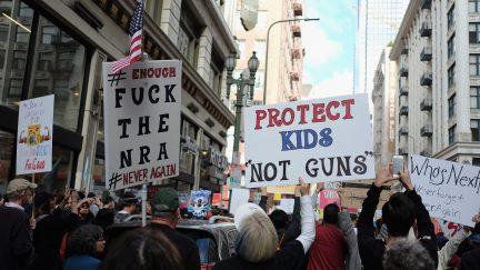 jenny trout gun nuts NRA trolls