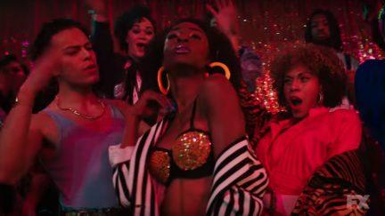 Angelica Ross in a scene from Ryan Murphy's