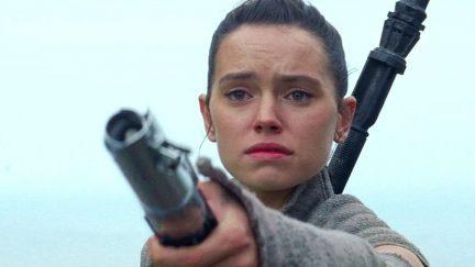 Daisy Ridley as Rey in Star Wars