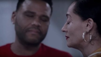 Anthony Anderson as Dre and Tracee Ellis Ross as Bow on ABC's Black-ish