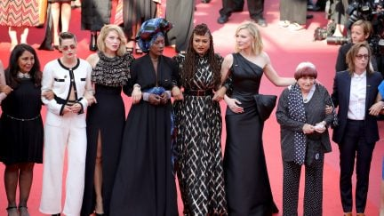 Cannes Women's March Cate Blanchett