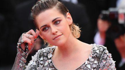 CANNES, FRANCE - MAY 14: Jury member Kristen Stewart attends the screening of