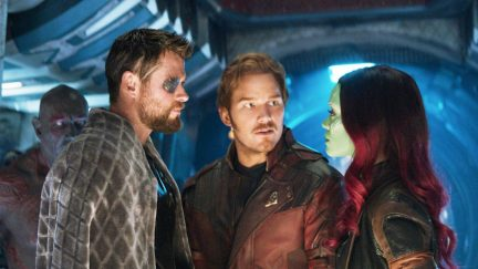 Star-Lord in Avengers: Infinity War
