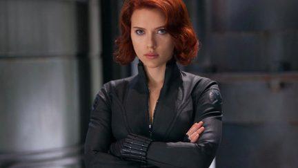 scarlett johansson as black widow in marvel's the avengers