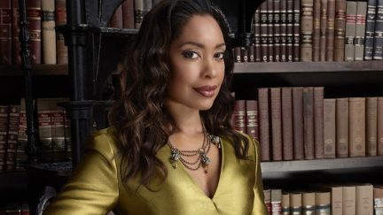SUITS -- Season: 4 -- Pictured: Gina Torres as Jessica Pearson -- (Photo by: Nigel Parry/USA Network)