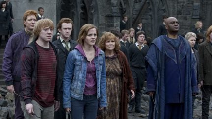 HARRY POTTER, battle of hogwarts, deaths, jk rowling