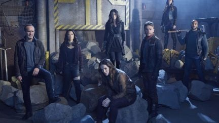 Marvel and ABC's Agents of SHIELD cast