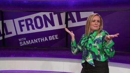 samantha bee, full frontal, me too, eric schneiderman