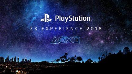 Playstation experience e3 2018
