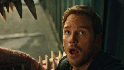 Chris Pratt in Jurassic World 2