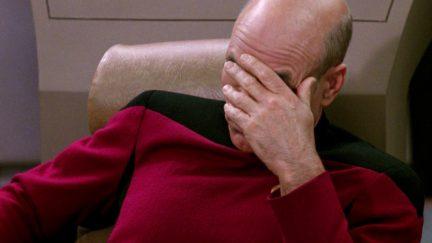 Picard facepal