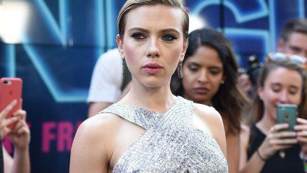Scarlett Johansson, garbage, casting, trans, transgender, responses, memes