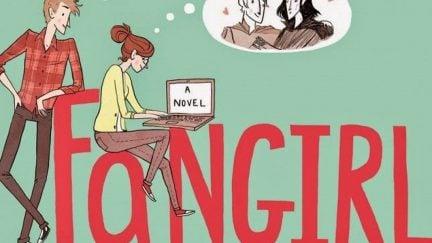 Fangirl, a novel by Rainbow Rowell