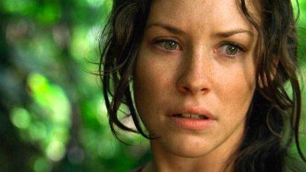 Lost's Evangeline Lilly as Kate Austen