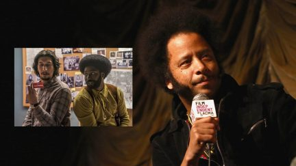 LOS ANGELES, CA - JUNE 28: Director Boots Riley attends the Film Independent At LACMA Presents Screening And Q&A Of