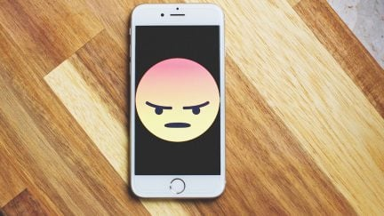 angry emoji sums up our feelings on social media.