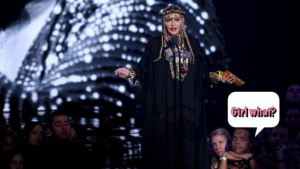 performs onstage during the 2018 MTV Video Music Awards at Radio City Music Hall on August 20, 2018 in New York City.