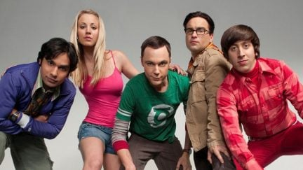 The cast of CBS's The Big Bang Theory