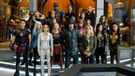 arrow, the flash, supergirl, legends of tomorrow