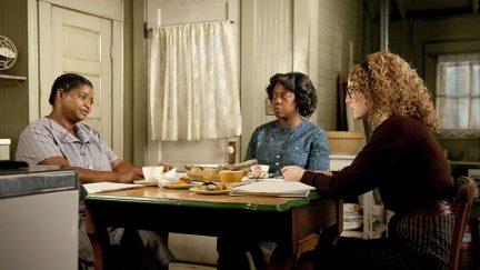 Viola Davis, Octavia Spencer, and Emma Stone in The Help (2011)