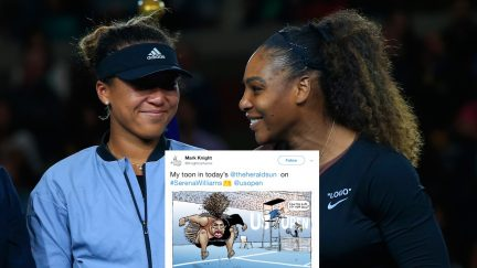 on Day Thirteen of the 2018 US Open at the USTA Billie Jean King National Tennis Center on September 8, 2018 in the Flushing neighborhood of the Queens borough of New York City. (Chris Trotman/Getty Images for USTA)