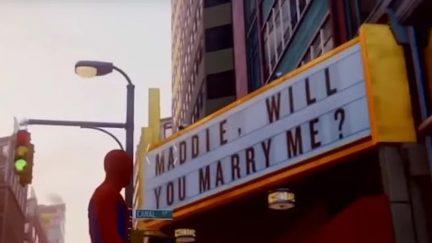 Spider-Man Easter egg proposal