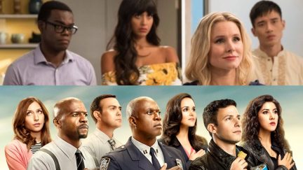 cast of the good place and brooklyn 99