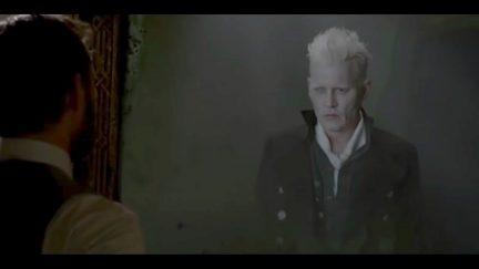 Johnny Depp Gellert Grindelwald Fantastic Beasts 2 Crimes of Grindelwald