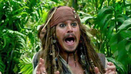 Jack Sparrow Johnny Depp Stranger Tides