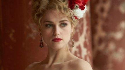 DRACULA -- Episode 1-- Pictured: Katie McGrath as Lucy Westenra -- (Photo by: Jonathon Hession/NBC)