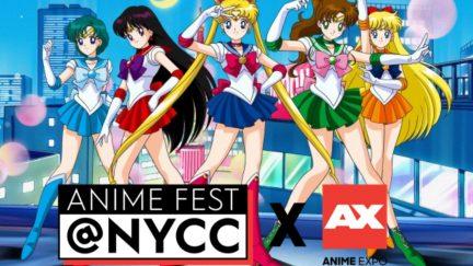 SailorMoon + Anime Fest NYCC