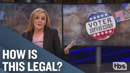 sam bee voter suppression