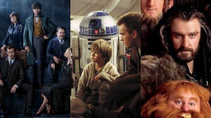 Prequels The Hobbit, Fantastic Beasts, Star Wars