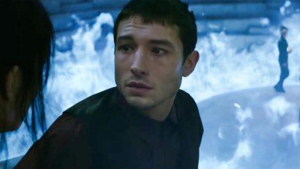 Ezra Miller stars as Credence Barebone in Fantastic Beasts: The Crimes of Grindewald