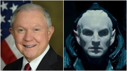 Jeff Sessions and Malekith the Accursed