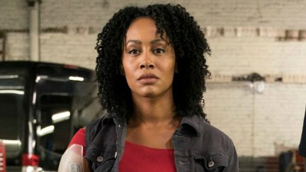 Simone Missick as Misty Knight in Netflix and Marvel's Luke Cage