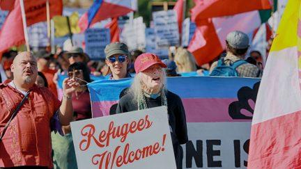 refugees, asylum, migrants, border, tear gas, trump, sinclair