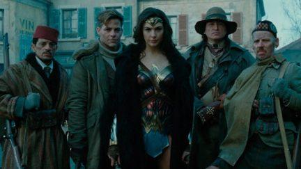 Wonder Woman (2017) saw Diana (Gal Gadot) and Steve (Chris Pine) fighting alongside a group of misfit allies (SaïdTaghmaoui, Eugene Brave Rock, Ewen Bremner)