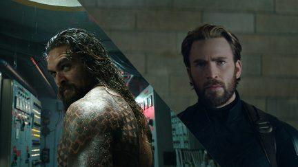 Aquaman Captain America