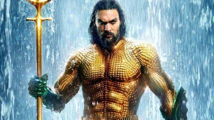 Jason Momoa as Arthur Curry in 'Aquaman'